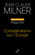 considerations sur europe