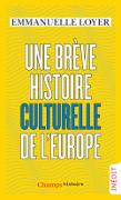 brev histoire culturelle europe