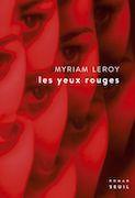 myriam leroy les yeux rouges